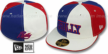 Philly 'PINWHEEL-CITY' Royal-White-Red Fitted Hat by New Era