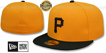 Pirates 1970-75 'GAME' Fitted Hat by New Era