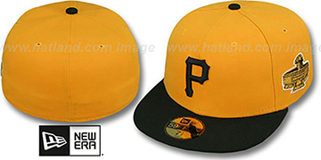 Pirates 1971 'WORLD SERIES CHAMPS' GAME Hat by New Era