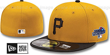 Pirates 2013 POSTSEASON ALTERNATE-2 Hat by New Era