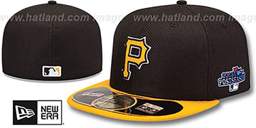 Pirates '2013 POSTSEASON' DIAMOND-TECH Hat by New Era