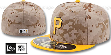 Pirates '2014 STARS N STRIPES' Fitted Hat by New Era