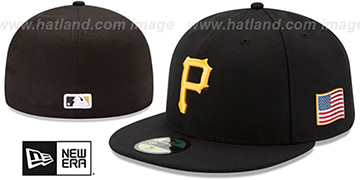 Pirates 2015 STARS-N-STRIPES 911 GAME Hat by New Era