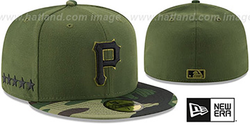 Pirates AC-ONFIELD ALTERNATE-3  Hat by New Era