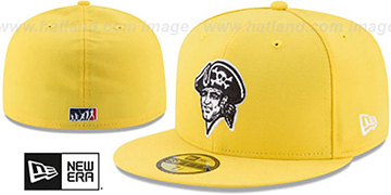 Pirates '2017 MLB LITTLE-LEAGUE' Yellow Fitted Hat by New Era