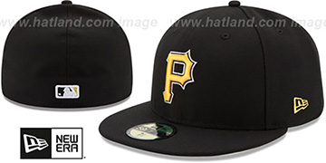 Pirates AC-ONFIELD ALTERNATE Hat by New Era