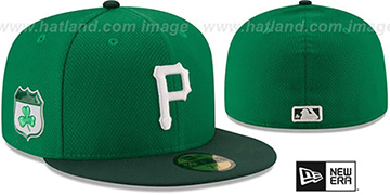 Pirates 2017 ST PATRICKS DAY Hat by New Era