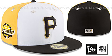 Pirates '2018 MLB ALL-STAR GAME' Fitted Hat by New Era