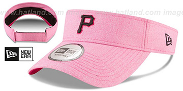 Pirates '2018 MOTHERS DAY VISOR' Heather Pink by New Era