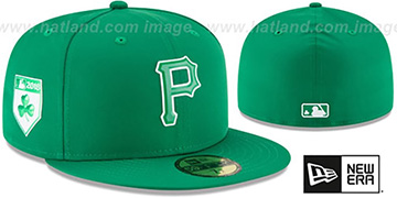 Pirates 2018 ST PATRICKS DAY Hat by New Era