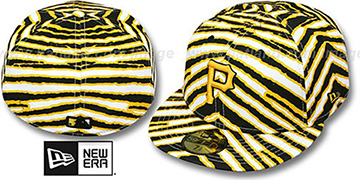 Pirates 'ALL-OVER ZUBAZ' Fitted Hat by New Era