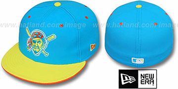 Pirates ALT '2T-FASHION' Turquoise-Yellow Fitted Hat by New Era