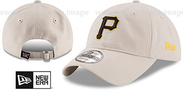 Pirates 'CORE-CLASSIC STRAPBACK' Stone Hat by New Era