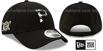 Pirates DASHMARK BP SNAPBACK Black Hat by New Era