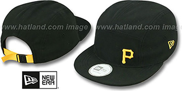 Pirates 'FLAWLESS CAMPER STRAPBACK' Black Hat by New Era