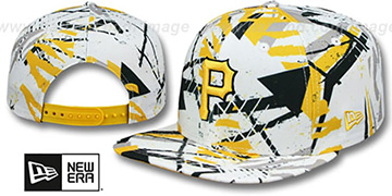 Pirates 'GEOMET TRICK SNAPBACK' Hat by New Era