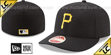 Pirates LOW-CROWN VINTAGE Fitted Hat by New Era