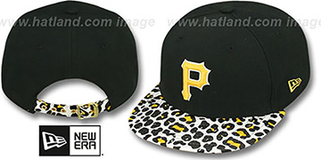 Pirates 'OSTRICH-LEOPARD STRAPBACK' Hat by New Era