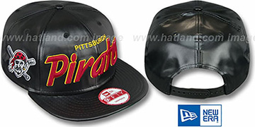 Pirates REDUX SNAPBACK Black Hat by New Era