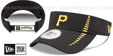 Pirates 'SPEED-VISOR' Black by New Era