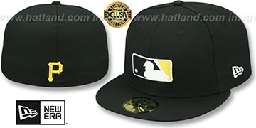 Pirates TEAM MLB UMPIRE Black Hat by New Era