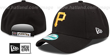 Pirates 'THE-LEAGUE GAME STRAPBACK' Black Hat by New Era