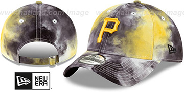 Pirates TIE-DYE STRAPBACK Hat by New Era