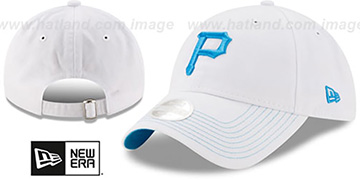 Pirates WOMENS POP PREFERRED PICK STRAPBACK White-Blue Hat by New Era