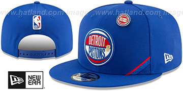 Pistons '2019 NBA DRAFT SNAPBACK' Royal Hat by New Era