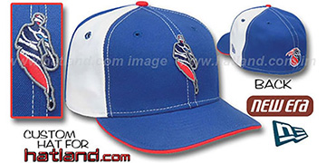 Pistons INSIDER PINWHEEL Royal-White Fitted Hat by New Era