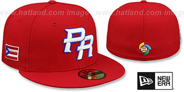 Puerto Rico 'PERFORMANCE WBC-2' Red Hat by New Era