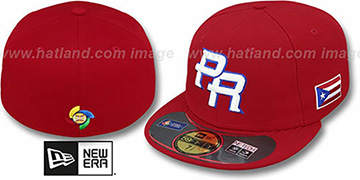 Puerto Rico 'PERFORMANCE WBC' HOME Hat by New Era