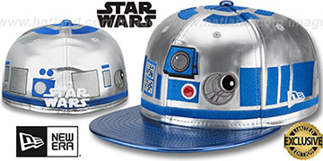 R2D2 'CHARACTER FACE' Fitted Hat by New Era