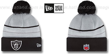 Raiders 'THANKSGIVING DAY' Knit Beanie Hat by New Era
