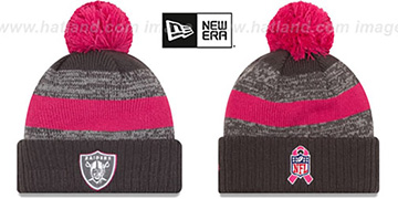 Raiders '2016 BCA STADIUM' Knit Beanie Hat by New Era