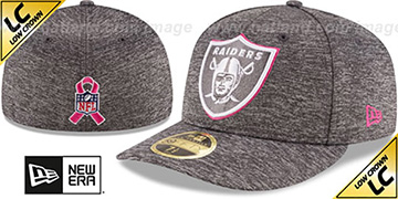 Raiders 2016 LOW-CROWN BCA Grey Fitted Hat by New Era
