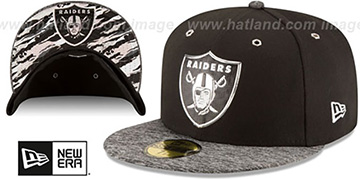Raiders '2016 NFL DRAFT' Fitted Hat by New Era