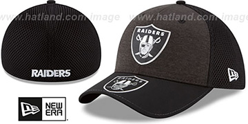 Raiders 2017 NFL ONSTAGE FLEX Hat by New Era