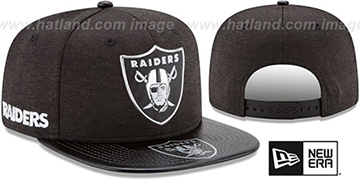 Raiders '2017 NFL ONSTAGE SNAPBACK' Hat by New Era