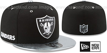 Raiders '2017 SPOTLIGHT' Fitted Hat by New Era