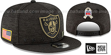 Raiders 2020 SALUTE-TO-SERVICE SNAPBACK ST Black Hat by New Era