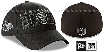Raiders 2020 VIRTUAL DRAFT FLEX Black Hat by New Era