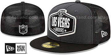 Raiders 2021 NFL TRUCKER DRAFT Fitted Hat by New Era