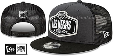 Raiders '2021 NFL TRUCKER DRAFT SNAPBACK' Hat by New Era