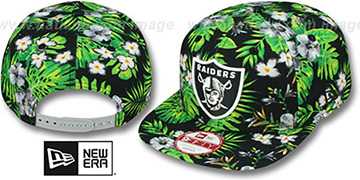 Raiders 'BLOOM SNAPBACK' Hat by New Era