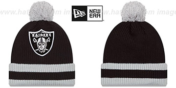 Raiders 'CHILLER FILLER BEANIE' Black-Grey by New Era