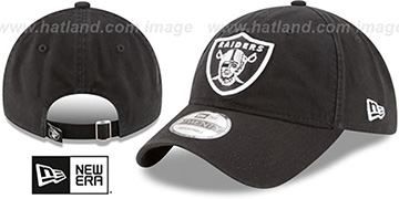 Raiders 'CORE-CLASSIC STRAPBACK' Black Hat by New Era