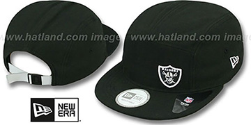 Raiders 'FLAWLESS CAMPER STRAPBACK' Black Hat by New Era