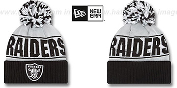 Raiders 'REP-UR-TEAM' Knit Beanie Hat by New Era