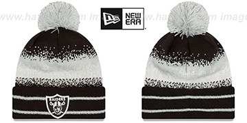 Raiders SPEC-BLEND Knit Beanie Hat by New Era